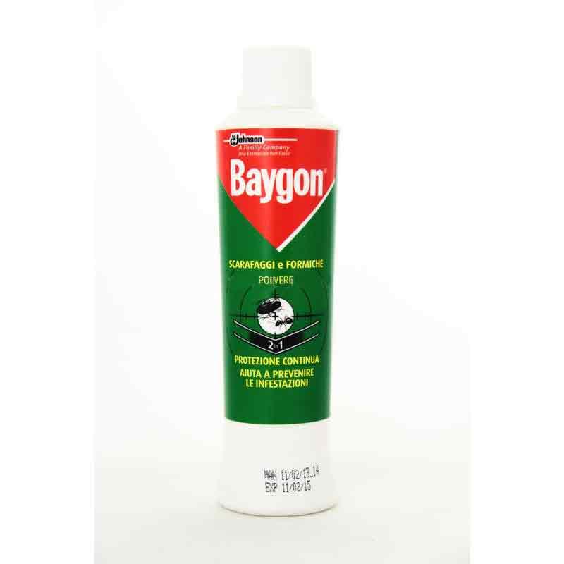 BAYGON SCARAFAGGI E FORMICHE POLVERE 2 IN 1 - 250 ML